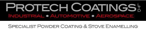 Protech Coatings Limited - Automotive Stove Enamelling - Industrial Spraying - Aerospace Powder Coatings